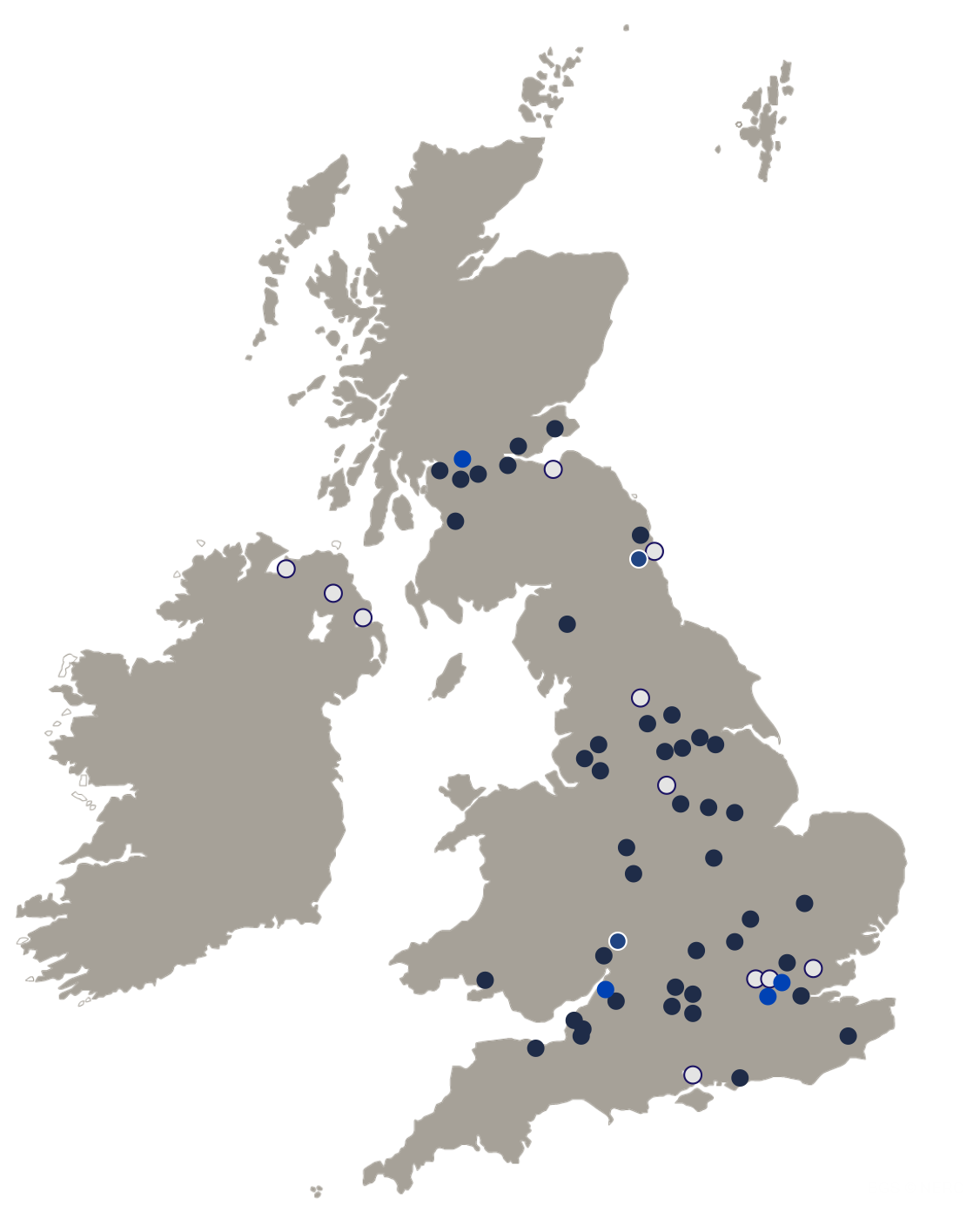 Cordatus Asset UK Map